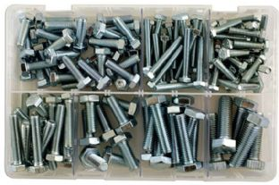 Connect 35014 150 Piece Assorted Metric Setscrews M6 to M12 Box